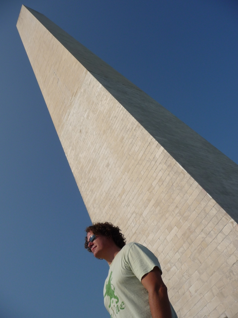 Keith by the Washington Monument