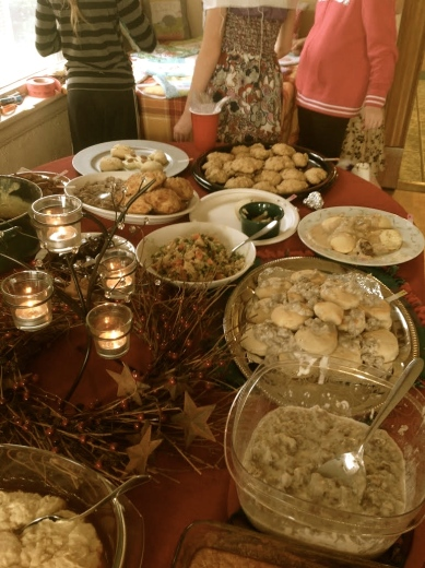 Addy Civil War party: Biscuit competition